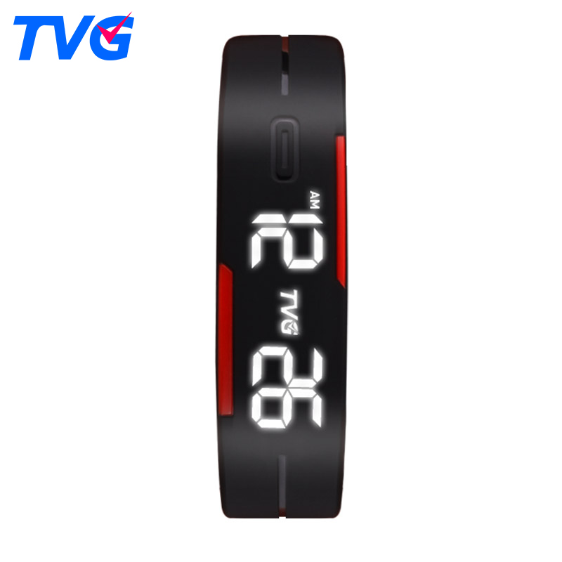 2016 Hot TVG Brand Soft Silicone Bracelet Strap Cartoon-watch LED Display Children Digital Cartoon Watch for kids Gift(China (Mainland))