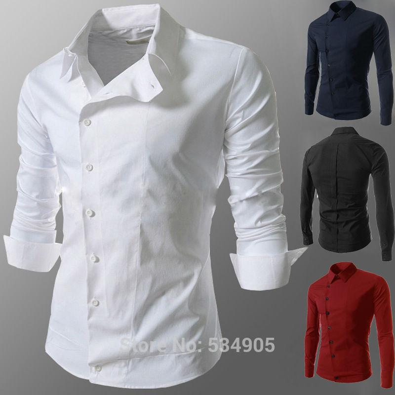 Brand New Spring Fashion New Casual Shirts Men Korean Slim