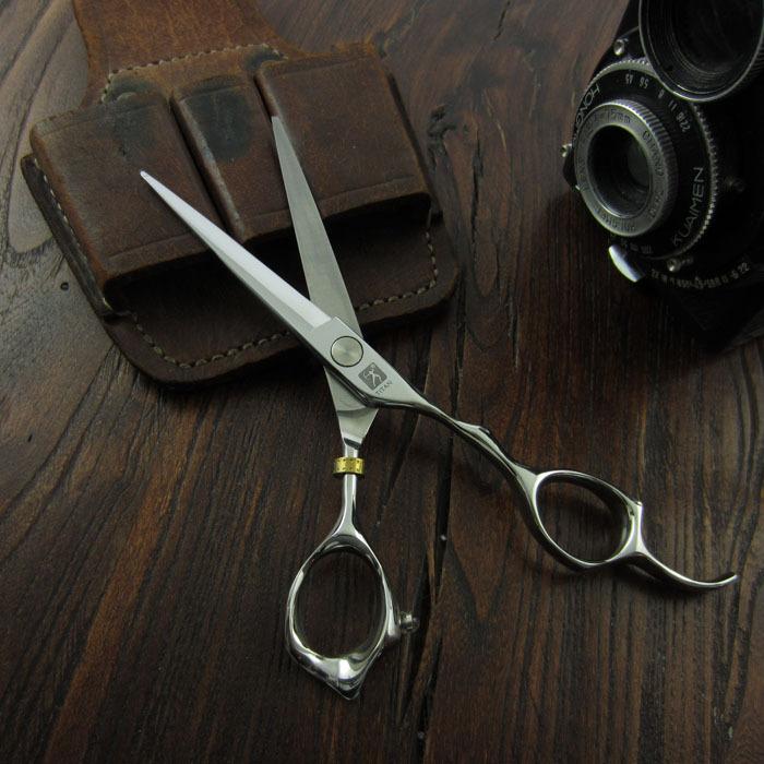 free shipping Professional hair scissor   suntachi scissors  hair scissors japaness steel Titan scissors