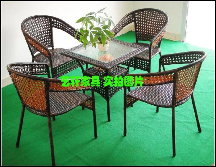 Mesas y sillas de mimbre dise os arquitect nicos for Ocio muebles