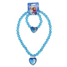 2016 nuovo Bambino Ragazze gioielli collana Per Bambini perline accessori nuovo stile Elsa pendente della collana(China (Mainland))