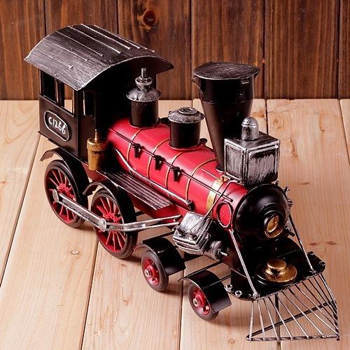 Vintage Locomotive Model, Steam Locomotive