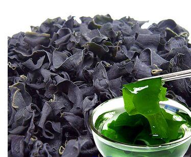 FreeShipping Wakame Natural Seaweed soup salad snack cracker 100g grain dried seaweed high protein vitamin no addition pollution(China (Mainland))