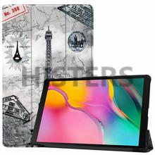 Для samsung Galaxy Tab 10,1 дюйма (2019) Чехол-футляр на магните для samsung Tab SM-T510 SM-T515 принципиально Капа(China)