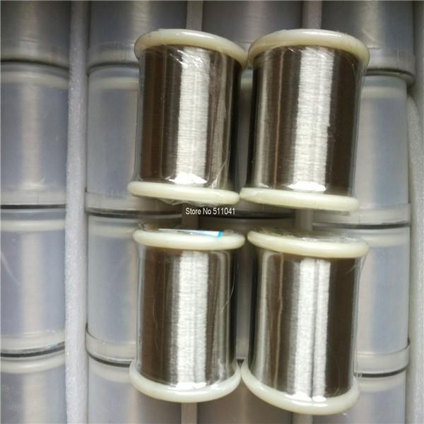 ถูก โรงงานอุปทาน0.25มิลลิเมตรเส้นผ่าศูนย์กลางลวดไทเทเนียมสำหรับบุหรี่อิเล็กทรอนิกส์, 1กิโลกรัมจัดส่งฟรี