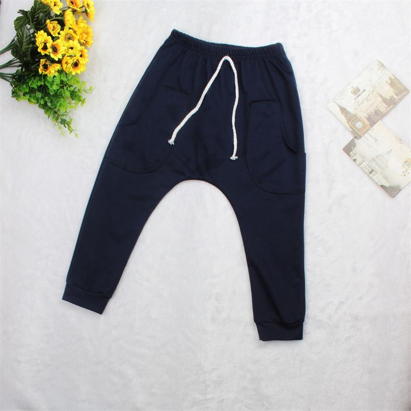 New 2016 Stylish Girl Sports Trousers Toddler Children Jersey Harem Pants Baby Boy Jersey Bottoms(China (Mainland))