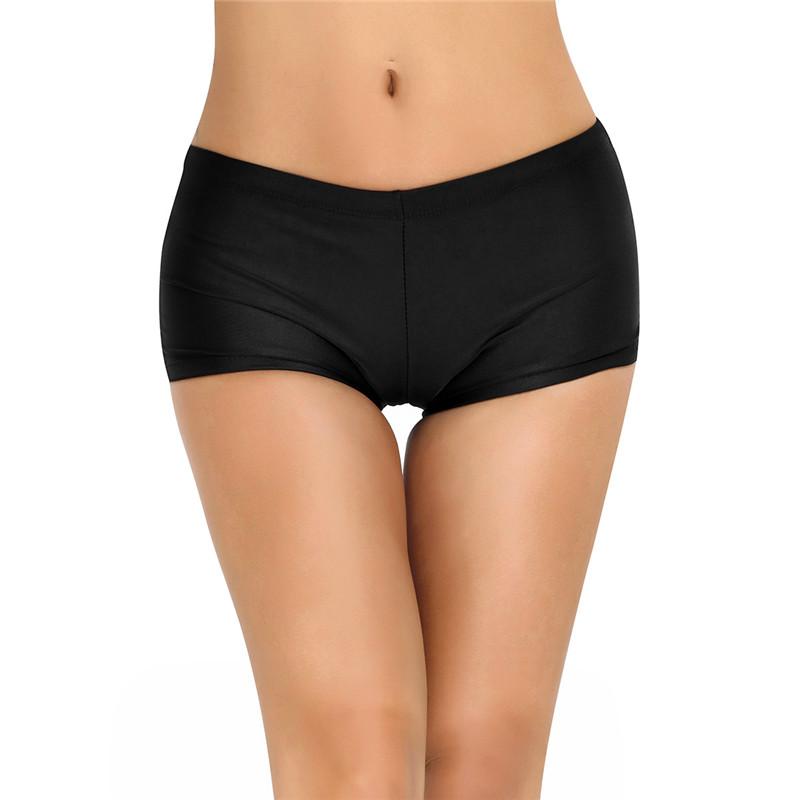 MSemis Kids Girls Seamless High Cut Active Briefs Gymnastics Ballet Dance Underwear Shorts Knickers