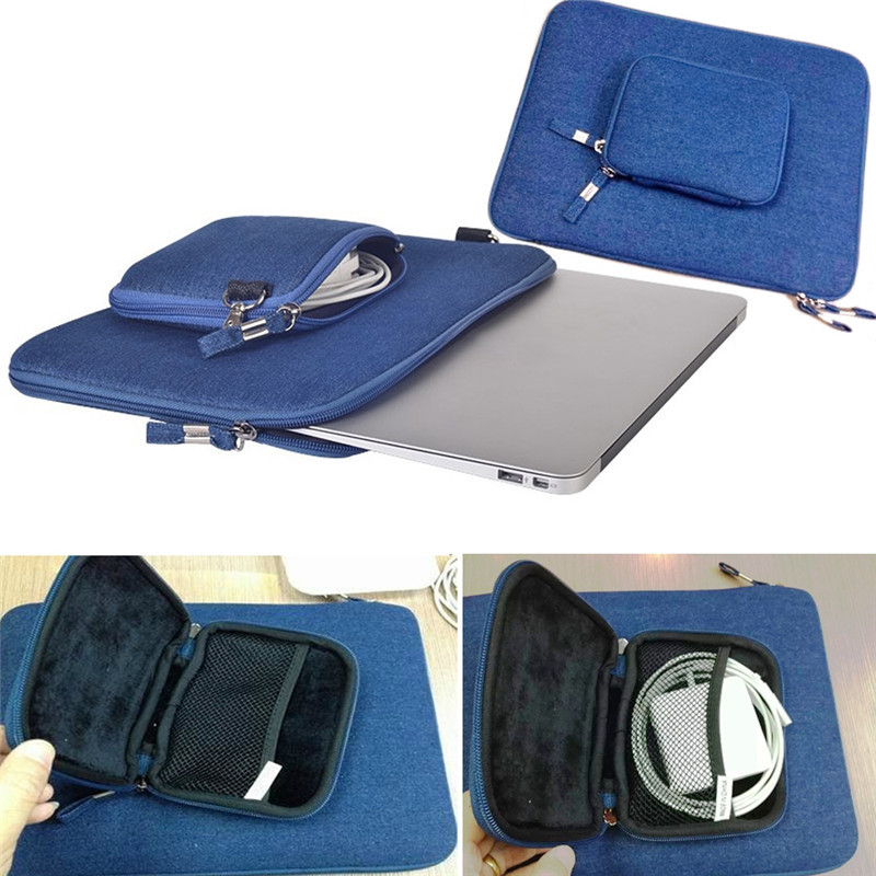Retro 11'' 13'' 15'' Cowboy Pattern Zipper Power Charger Bag Computer Notebook Laptop Sleeve Bag Case For Macbook Air,Retina,Pro(China (Mainland))