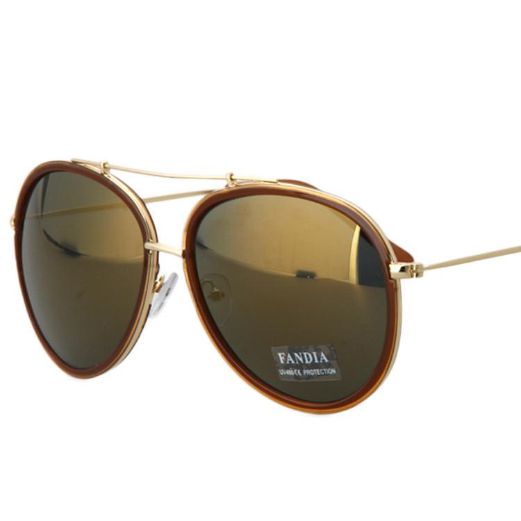 Big Frame Aviator Glasses : New vintage flat top Big Frame aviator glasses 2015 summer ...