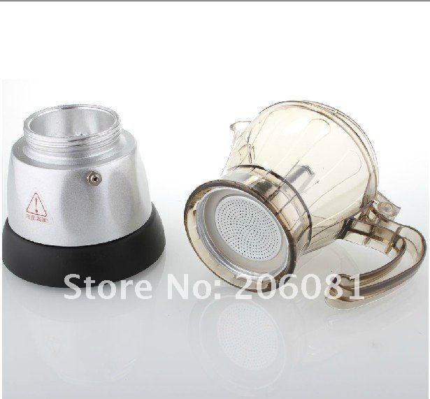 Mocha Espresso Maker ~ Automatic electric stovetop espresso coffee maker moka