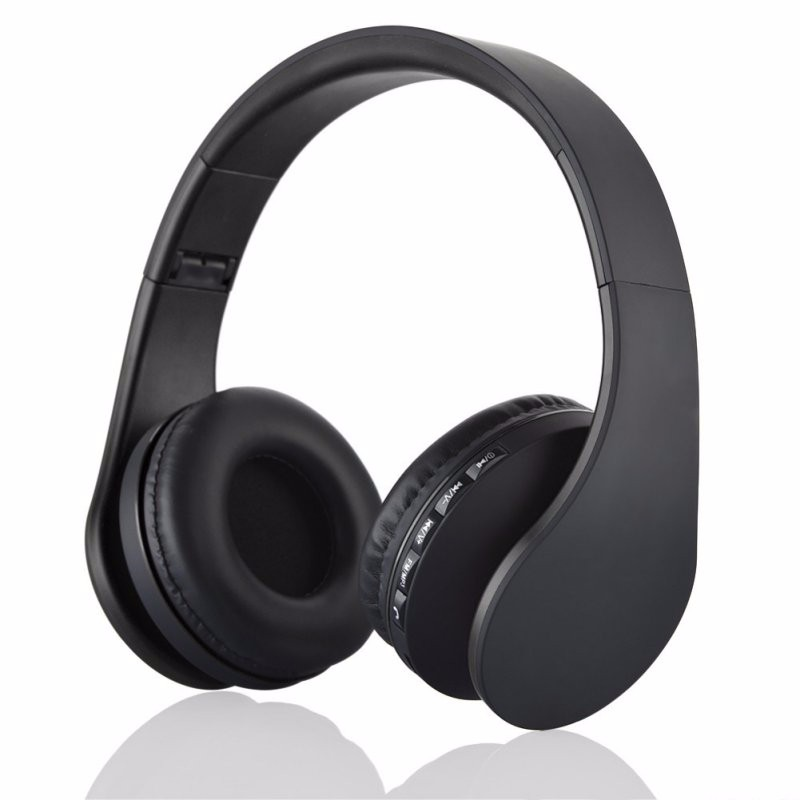 Andoer Digital 4 in 1 Stereo Bluetooth 3.0 EDR Headphones Wireless Headset Music with Micphone For iphone Samsung Hot Sale