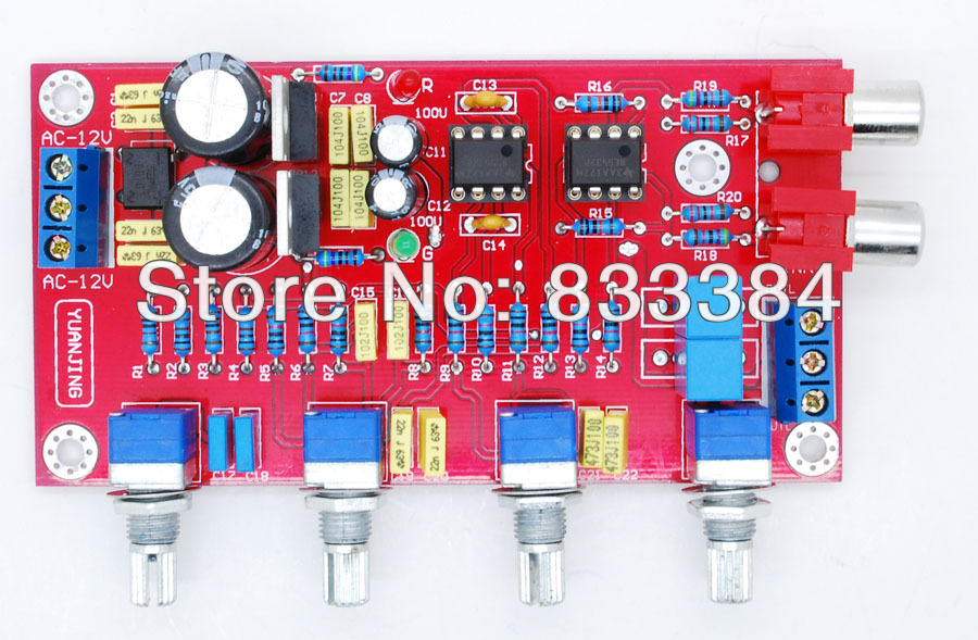 Аудио усилитель DOWONSOL 2 NE5532 301234