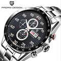 Men Watches Luxury Brand Multifunctional PAGANI DESIGN Quartz Men s Sport Wrist Watch Dive 100 m