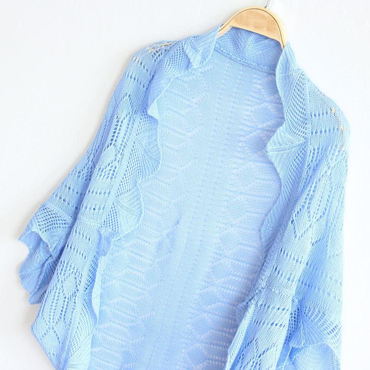 2015 spring autumn women sweater medium-long cutout thin cardigan outerwear's - Fashion kids select store