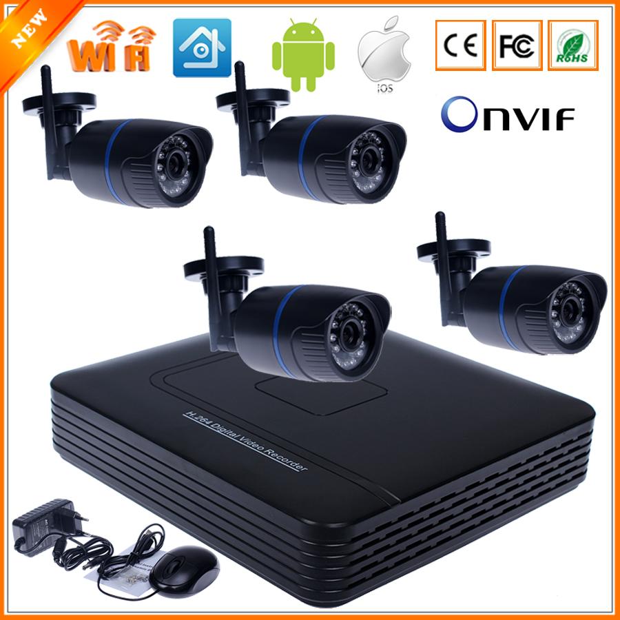 Aliexpress Com Buy Wifi Ip Camera System Kit 8ch Nvr