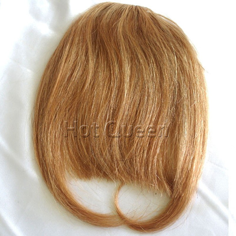 IN STOCK Fringes Bangs 100% Real Human Brazilian Virgin Hair Clips in Extensions Human Hair Bangs Long Hair Clip in Bangs FH01