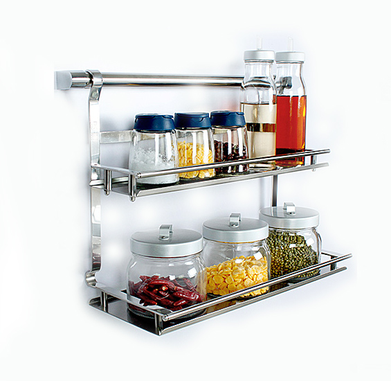 18/8 Stainless Steel Multifunctional Kitchen Racks And