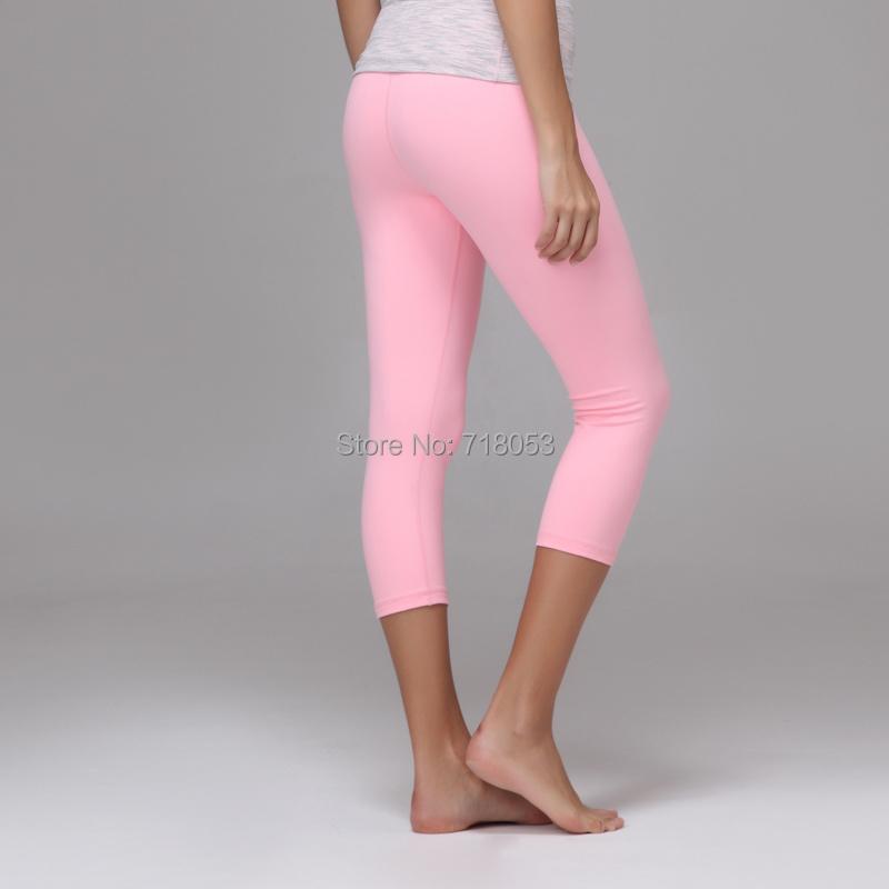 Pink Capri Yoga Pants Vpi Pants