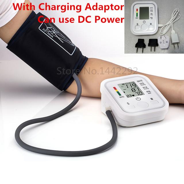 2015 Здравоохранение 1 шт. Цифровой Жк Верхняя Рука Монитор Артериального Давления Heart Beat Meter Машина Тонометр для Измерения Автоматически