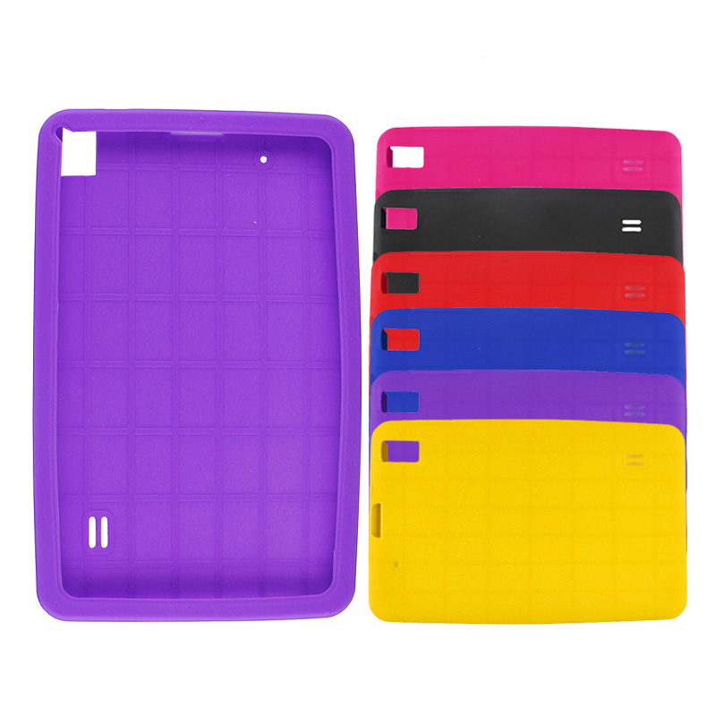 9 Inch Tablet Silicone Gel Protective Case QJY99(China (Mainland))
