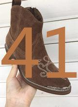 חדש ב נשים בציר Cowgirl פוגש Boho מראה חתימה קקטוס עלה מגפיים/נעליים מערביות עם חרוט מתכת העקב & הבוהן כובעי שמלה(China)