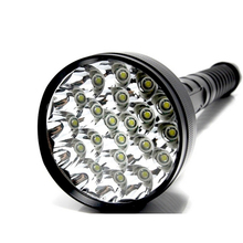 Super Power 28000 Lumen 21x XML CREE T6 5Modes Flashlight For 26650/18650 Battery High Quality Torch Lamp Hunting Equipment(China (Mainland))