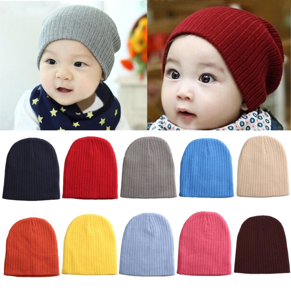 2015 New Autumn Winter Warm Cotton Baby Hat Girl Boy Toddler Infant Kids Knitted Crochet Caps Lovely Baby Beanies Accessories(China (Mainland))