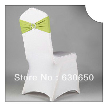 Free shipping chair decorative love ring elastic band
