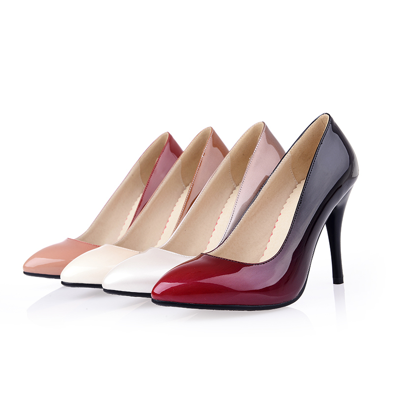 new fashion pumps gradually changing color high