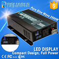 4000W Peak 2000W LED Display Off Grid Pure Sine Wave Power Solar Inverter 12V 120V DC
