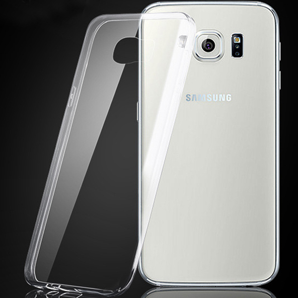 S6 Cases 0.3mm Super Slim Soft TPU Gel Case For Samsung Galaxy S6 SVI G9200 Crystal Clear Rubber Cover Shell Bag For Galaxy S6(China (Mainland))