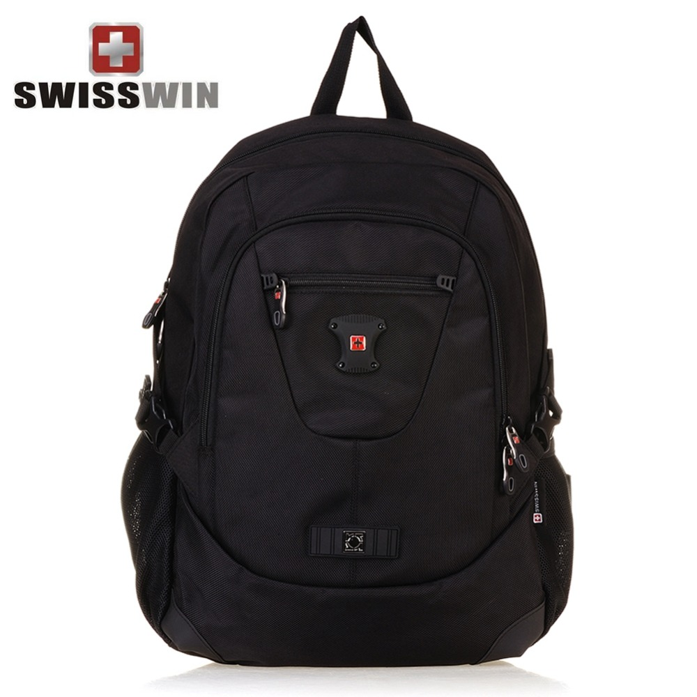 SWISSWIN New Style Large Capacity Business Backpack Casual Sports Durable Laptop Backpack Travel Bag Outdoor