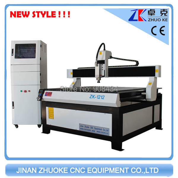 750W Yaskawa servo motor wood cnc engraving machine made china ZK-1212 1200*1200mm - Jinan Zhuoke CNC Equipment Co., Ltd store