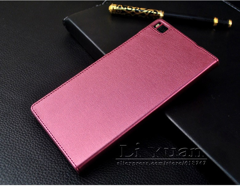 NEW Original Huawei P8 Flip Leather Mobile Phone Bag Case Accessories For huawei ascend P8 Cover Luxury Brand Smart Sleep Wake