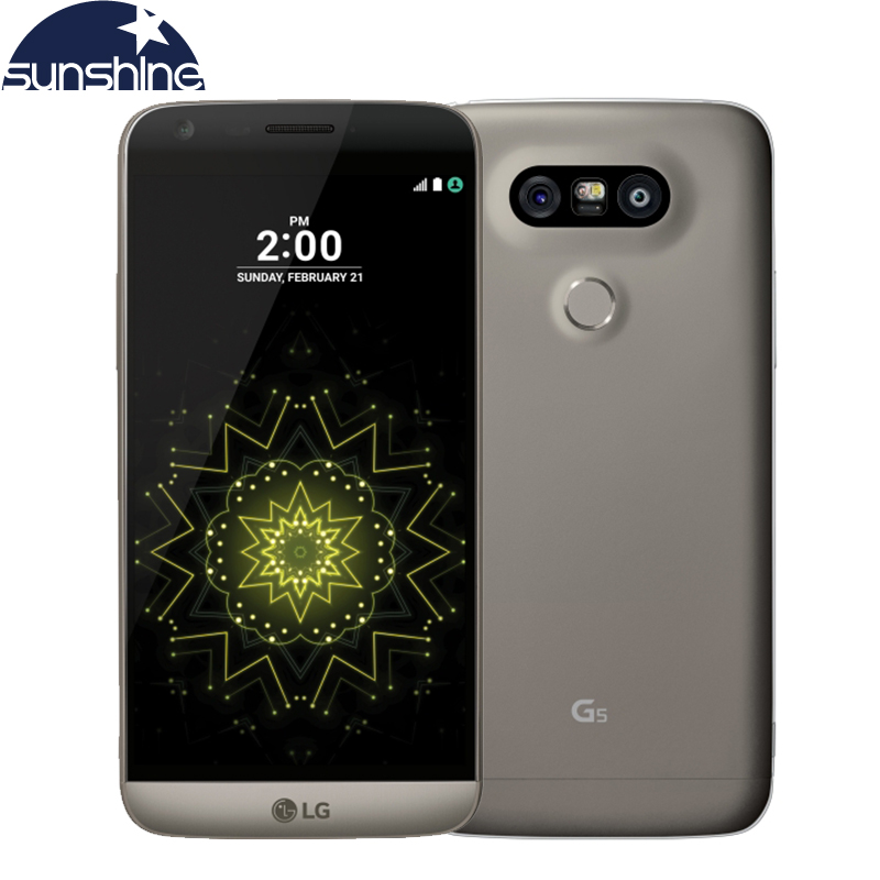 Original Unlocked LG G5 4G LTE Mobile Phone Quad Core 4G RAM 32G ROM 5.3'' 16.0MP Camera Fingerprint Smartphone(China (Mainland))