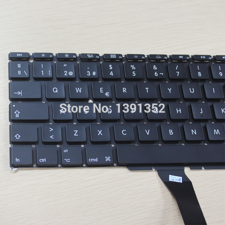 Original For Macbook Air 11 inch a1370 Spanish keyboard SP keyboard replacement 5pcs wholesale<br><br>Aliexpress