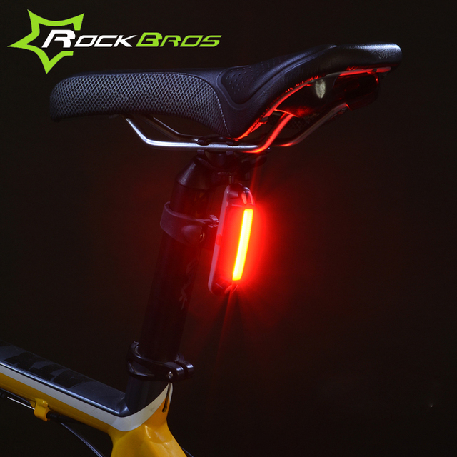 Waterproof Bicycle LED Taillight USB Rechargeable