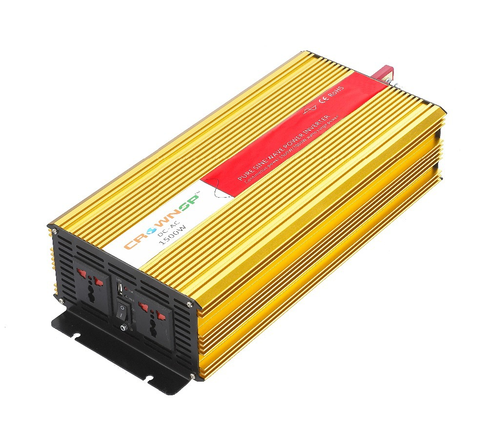 DC12v 24v 48v 1500w pure sine wave inverter solar power inverter pure sine wave solar inverter AC110v 220v(China (Mainland))