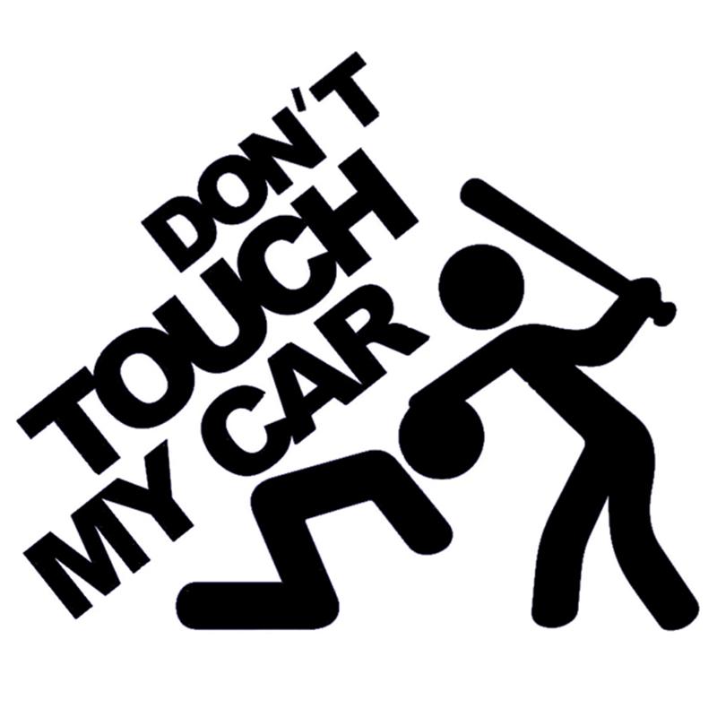 Наклейки на авто из изоленты