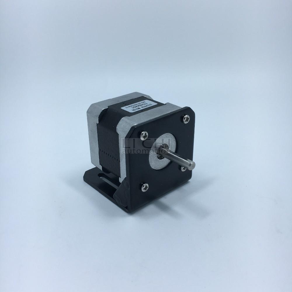 Buy top products 1pcs nema 23 mounting l for Nema 34 stepper motor mount