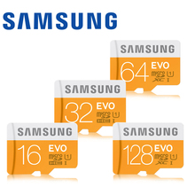 Buy Samsung Micro SD Memory Card 16G 32G 64G 128G MicroSD Cards SDHC SDXC Max 48M/s EVO UHS-I C10 UHS TF Flash Mikro Card (EVO 48M) for $11.17 in AliExpress store