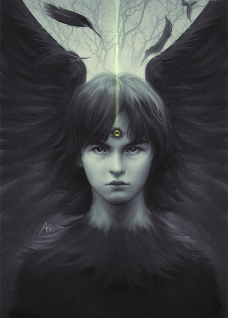 Game of Thrones Three-Eyed Raven Bran Stark Poster