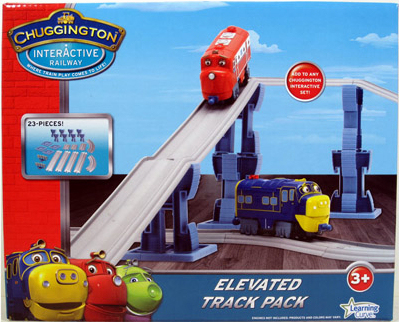Chuggington Interactive Railway Elevated Track Pack 23 PIECES