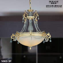 Novelty High-Gread Absorb dome light crystal lamp droplight restaurant(China (Mainland))