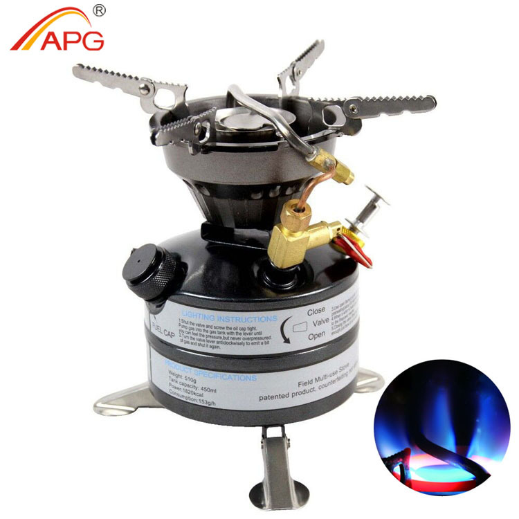 Free shipping, Field gasoline stove ,Camping Picnic Field Cookout Cooking Stove Multi Liquid Fuel Gasoline Burners(China (Mainland))