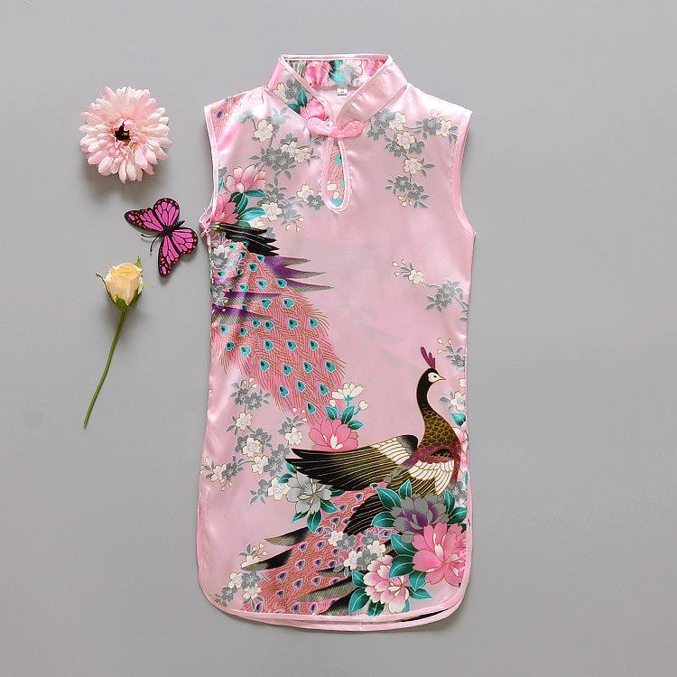 Платье для девочек 2016 Qipao