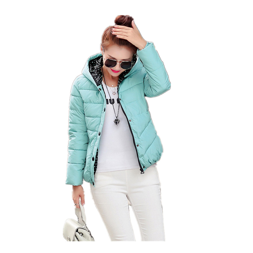 2016 New Womens Winter Jackets And Coats Slim Padded Outwear Chaquetas Mujer Camperas Mujer Abrigo font