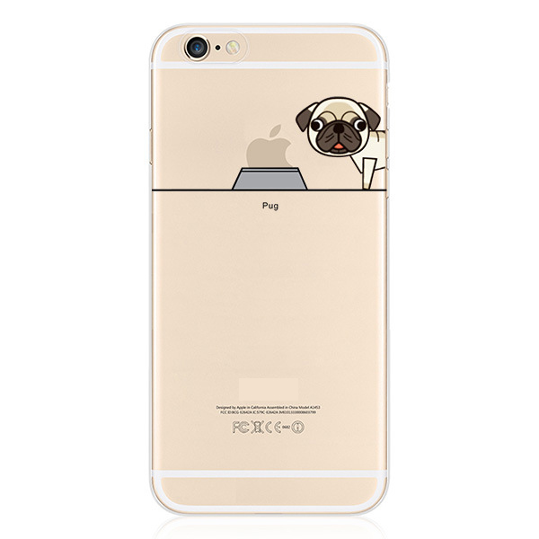 Здесь можно купить  Soft TPU Case for iPhone 6 6s 6Plus 5s Transparent Cute Cartoon Dog Cell Phone Case Back Cover 13 patterns  Soft TPU Case for iPhone 6 6s 6Plus 5s Transparent Cute Cartoon Dog Cell Phone Case Back Cover 13 patterns  Телефоны и Телекоммуникации