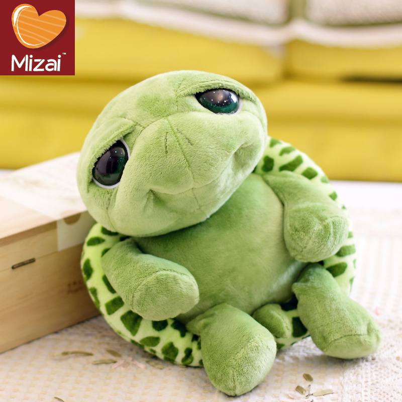 18cm 2014 new cute big eyes small turtle tortoise doll stitch plush toys girl dolls baby toy Christmas gift - Kids Paradise Center store