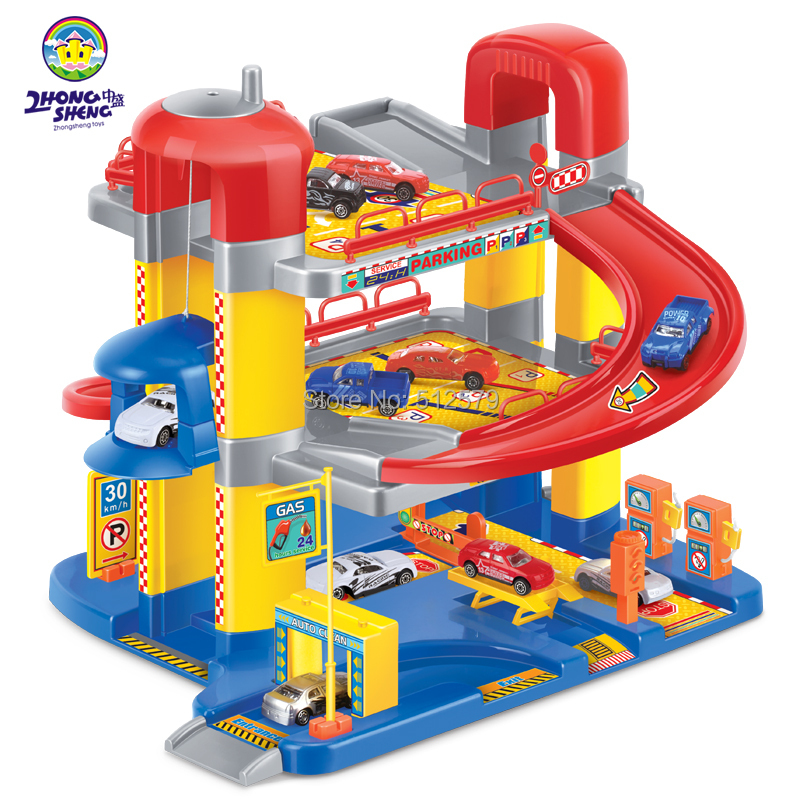 Online kopen wholesale speelgoed auto garage uit china speelgoed auto